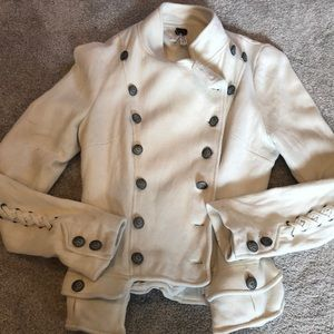 Free people military inspired cotton jacket!!